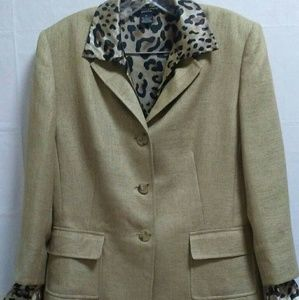 Womens' Tan Skirt Suit 2 pc (shirt included)
